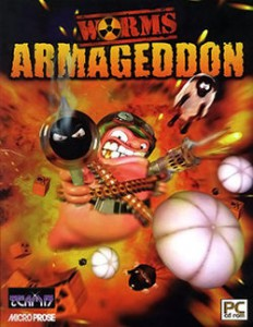 Worms armageddon - червячки армагеддон!